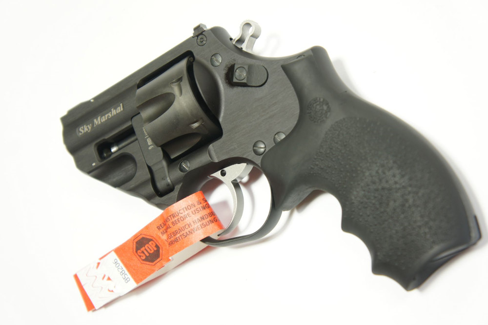 Sportschießen für Sportschützen mit WBK: Korth Revolver Sky Marshal Kaliber 9mm Luger