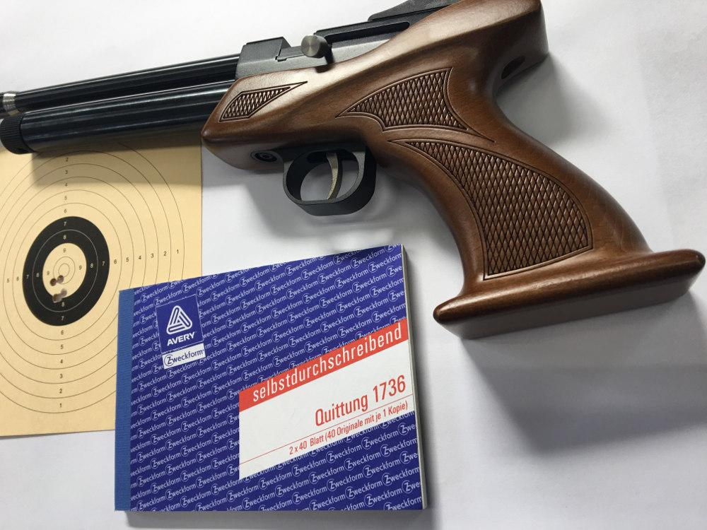 Erwerb von Waffen im Online Shop von waffen-schlottmann.de