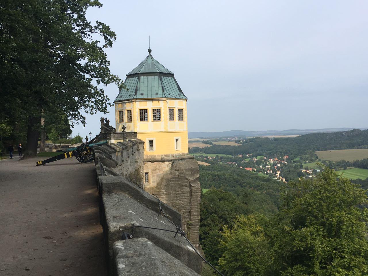 auf der Festung Königstein