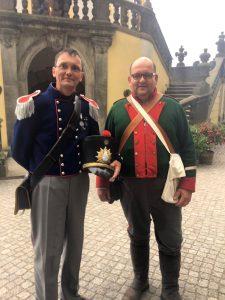 Der Organisator Martin Hillebrand und Jan Schlottmann